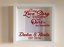 IKEA RIBBA Box Frame Personalised Vinyl Wall Art Quote Every Love Story