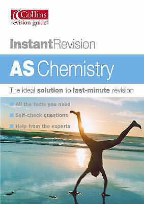 """""""AS NEW"""" Ellison, Anthony, Instant Revision – AS Chemistry Book"""