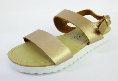 Spot On H0156 Girls Colour Block Summer Sandals ~ 4 Colours Available