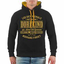 T-Shirt Dorfkind in GOLD Land bio bauern geschenk agrar landwirt traktor spruch