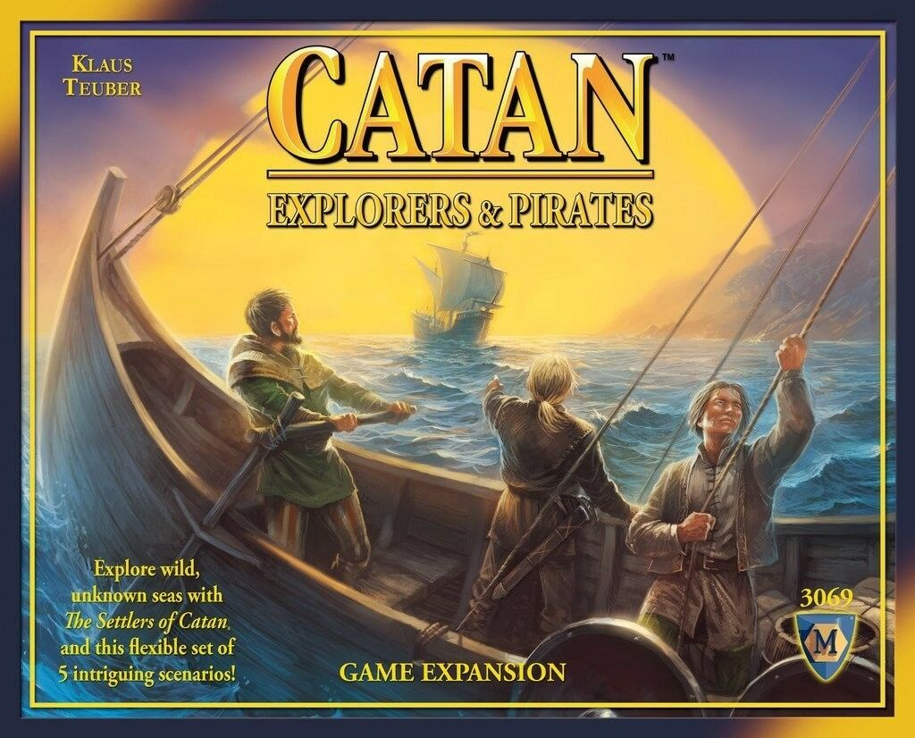 Catan  Explorers and Pirates Expansion 4th Edition (3069) BRAND NEW SEALED