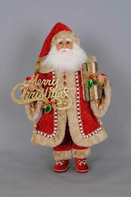 Karen Didion Originals Christmas Garden Santa Figurine