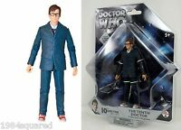 Doctor Who 10th Dr Blue Suit Glasses 5 Figure David Tennant Tenth Mint