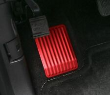 Aluminum  Car left foot pedal for Ford F150 2015 2016 1pcs Red