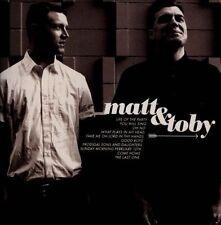 Matt & Toby-Matt & Toby CD Accoustic Emery  (Brand New Factory Sealed)