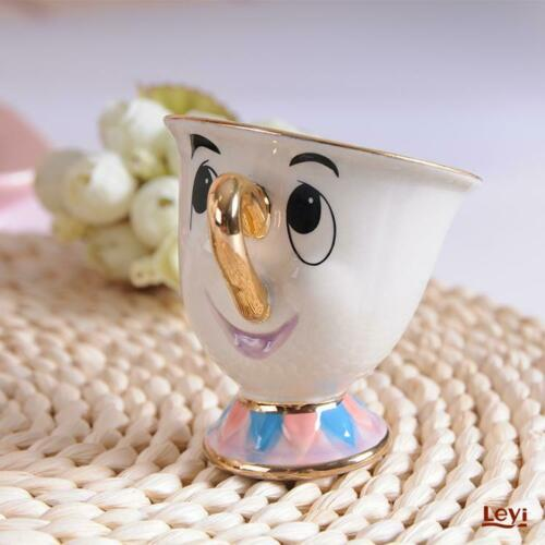 New Cartoon Beauty And The Beast Teapot Mug Mrs Potts Chip Tea Pot Cup One Set