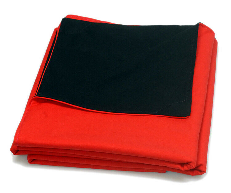 Focusing Cloth for Large Format Camera black/red