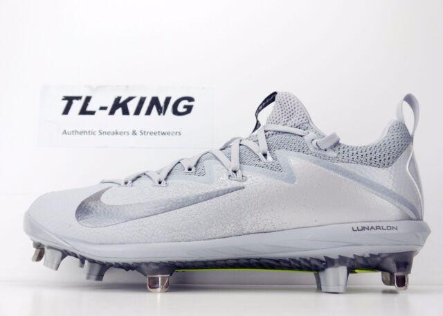 new concept 9dc43 9269f Nike Lunar Vapor Ultrafly Elite Baseball Cleats 852686 001 Msrp  110 AF