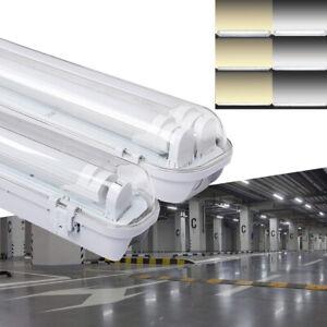 Details Zu Led Feuchtraumleuchte Wannenleuchte Tageslicht Werkstatt Badlampe Leuchten Ip65