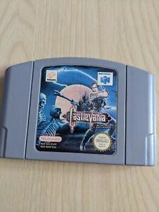 Castlevania Nintendo 64 1999 versión Europea N64 Pal RARO