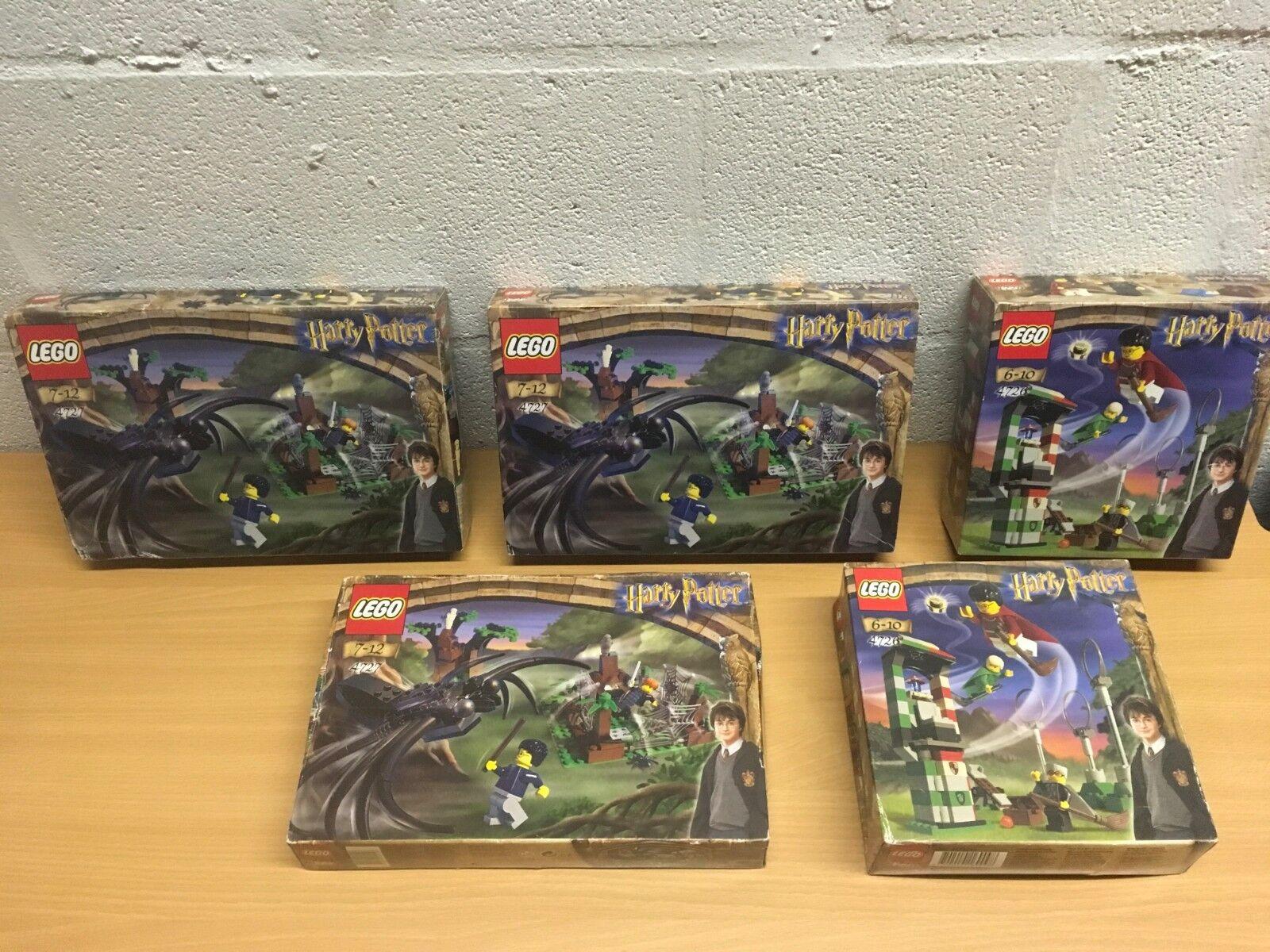LEGO HARRY POTTER 4726 4727 NY SEALD KVIDITCH PRAKTIK ELLER ARAGOG DARK SKOGS