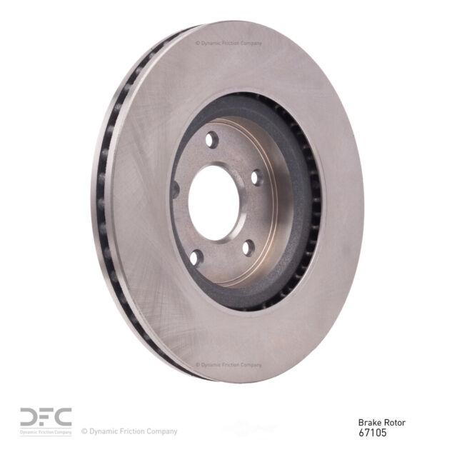 Disc Brake Rotor-Geospec Coated Rotor Rear DFC 604-54208