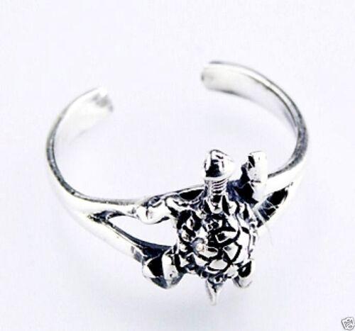 USA vendeur Réglable Tortue Toe Ring sterling silver 925 Meilleur Prix Bijoux