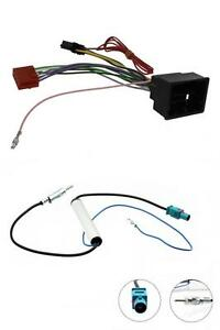 Vauxhall-Meriva-2010-On-Car-Stereo-Radio-Wiring-ISO-Harness-Aerial-Adaptor