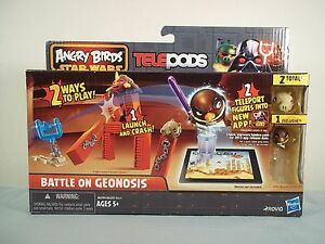Angry Birds Star Wars Telepods ~BATTLE on GEONOSIS w/ Mace ... Angry Birds Star Wars 2 Mace Windu 3d