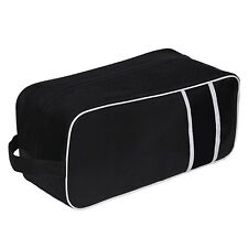 TOP QUALITY BLACK BOOT BAG FOOTBALL RUGBY TOILETRY SPORTS SCHOOL TRAVEL SHOE BAG
