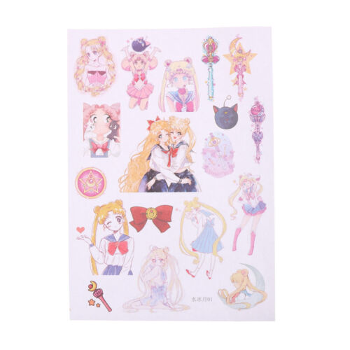 UK Sailor Moon Girl Dekorative Sticker Set Tagebuch Album Label Sticker Pip ZJP