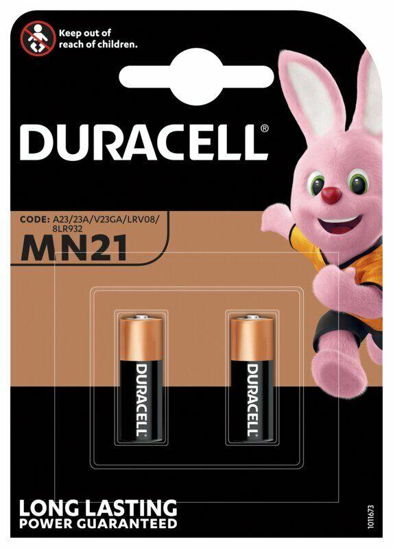 4 X Batteries Duracell MN21 A23 Alkaline 2 Blister x 2 HE