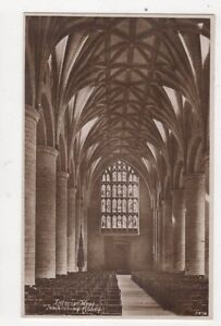 Interior-West-Tewkesbury-Abbey-Vintage-Postcard-481a
