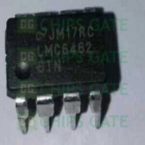 1PCS-LMC6462BIN-IC-OPAMP-GP-50-kHz-RRO-8DIP-Ti
