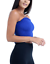 New-Ladies-Ruched-Elastic-Sheering-Strapless-Boob-Tube-Shirred-Bandeau-Crop-Top thumbnail 8