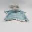 miniature 1 - Doudou plat lapin gris bleu super héros BLOOMINGVILLE - Lapin Plat, Semi plat