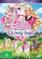 Barbie: And Her Sisters in a Pony Tale (UV) DVD NEW