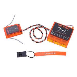 details about ar8000 dsmx 8 ch 2 4ghz telemetry cm821 receiver spektrum dx7  dx8 dx9