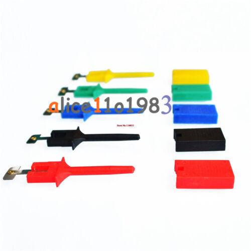 5PCS Hooks Test Clips 5 Colors for Logic Analyzers Logic Test Clip