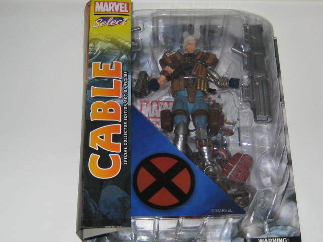 2016 2016 2016 DIAMOND MARVEL SELECT  CABLE ACTION FIGURE 810c40