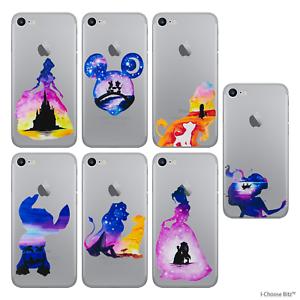 Disney-Acquerello-Custodia-Case-Cover-per-iPhone-5-5s-5c-SE-6-6s-7-8-Plus-X-10