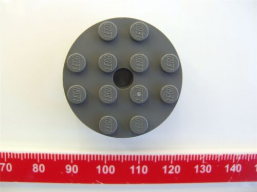 Parts /& Pieces 4558959 A Lego Grey Brick 4x4 round with 0.49 with KL