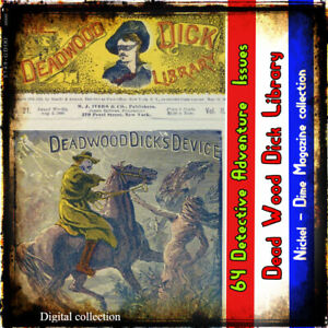 The-Deadwood-Dick-Library-1877-Action-adventure-detective-series-64-issues