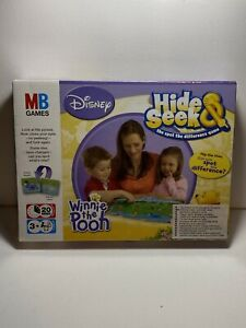 Disney-Winnie-The-Pooh-Hide-amp-Seek-Spot-The-Difference-Juego-Juegos-MB-2007-Nuevo