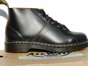 Dr-Martens-Church-Vintage-Smooth-Chaussures-47-Bottes-Monkey-16054001-UK12-Neuf