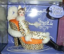 Barbie Lounge Kitties #1 2003 Barbie Doll - White Tiger Mattel NRFB NEW