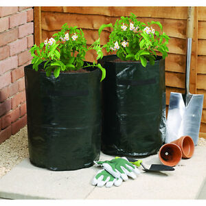 2pk-Strawberry-Potato-Vegetable-Bag-Planter-Garden-Fruit-Plant-Grow-Potato-Bags