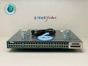 Cisco-WS-C3560X-48P-L-48-Port-3560X-PoE-Gigabit-Switch-SAME-DAY-SHIPPING