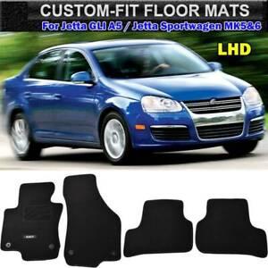 For Vw Jetta Gli Sportwagen Mk5 6 Car Nylon Floor Mats Carpet Liner Front Rear Ebay