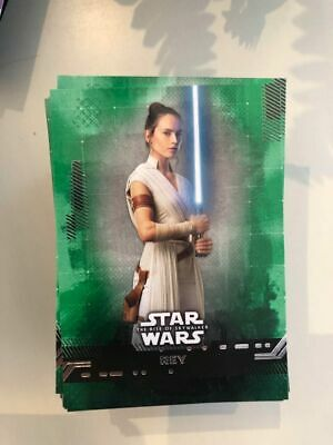 STAR WARS : THE RISE OF SKYWALKER PURPLE CARDS # 1-99 PICK PARALLEL