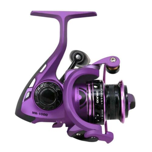 Ultralight Metal Fishing Reel Left Right Freshwater Spinning Reel 5+1BB