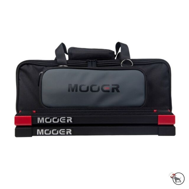 Mooer PB-05 Stomplate Mini Portable Compact Light Guitar Pedal Board Black & Bag