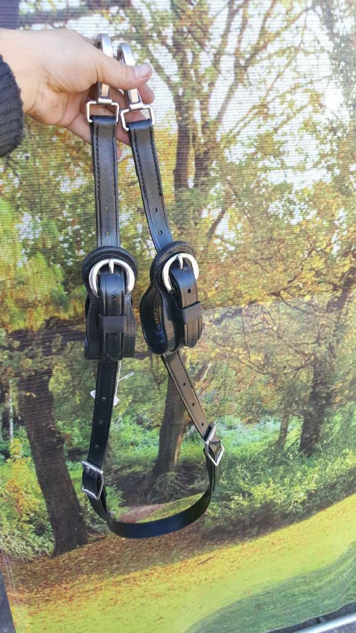 Nuevo Cochero de tamaño único caballo de tiro bucles  de eje de conexión Adaptador caballo Dibujado  marca famosa