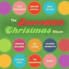 The Incredible Christmas Album by Various Artists (CD, Oct-2003, 2 Discs, Decca)