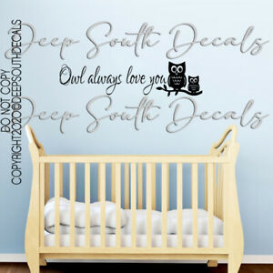 Owls decor Owls decorations Owls stickers Gold Owls Decals vinyl decals Owl wall decal Gold decals Owl decal for nursery