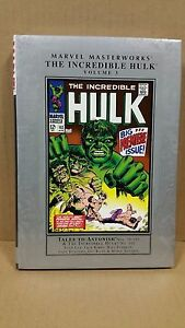 MARVEL-MASTERWORKS-MMW-THE-INCREDIBLE-HULK-Vol-3-HC-BRAND-NEW-RARE