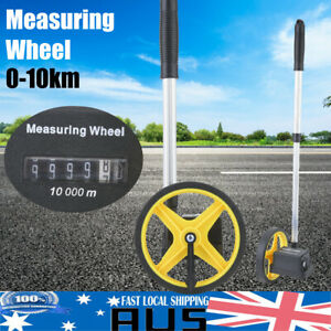 Pro-10KM-Measure-Distance-Wheel-Measure-Tape-Meter-Trundle-Walking-Surveyor-Tool