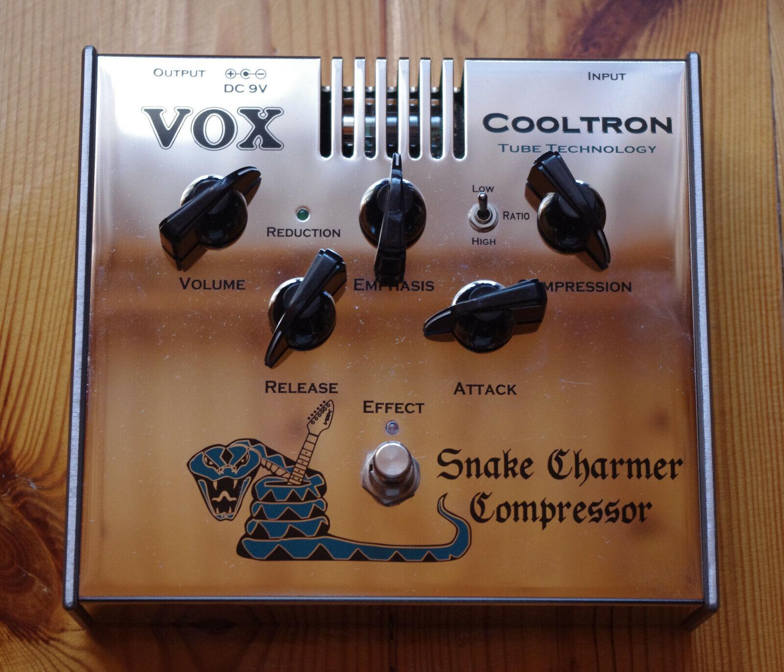 VOX Snake Charmer Compressor Tube Guitar Effect Pedal Made in Japan