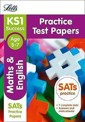KS1 Maths and English SATs Practice Test Papers: 2018 tests (Letts KS1 Revision