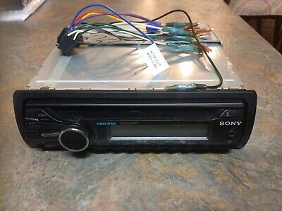 Sony CDXM20 In-Dash AM//FM//CD Marine Boat Stereo Receiver CDX M20 Head Unit Only